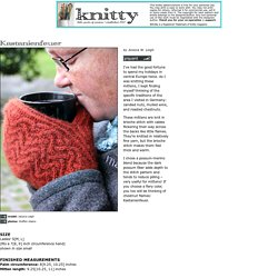 Kastanienfeuer mittens : Knitty.com - Winter 2015