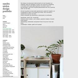 kastsysteem kabel : sandra nielen design portfolio