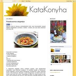 KataKonyha: Paradicsomos sárgarépa