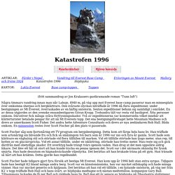 Katastrofen 1996