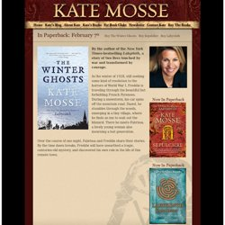 Kate Mosse - Official Website