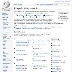 Sachsystematik