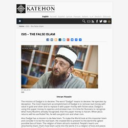 Katehon think tank. Geopolitics & Tradition