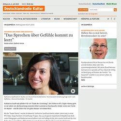 """Katharina Saalfrank über Erziehung - """"Das Sprechen über Gefühle kommt zu kurz"""""""