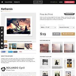 «Katharsis», Numbered Edition Fine Art Print by ROLANDO Cyril - From $19 - Curioos