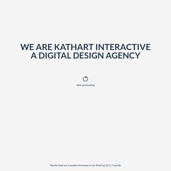 Take a tour of KathArt Interactive – award winning digital design agency