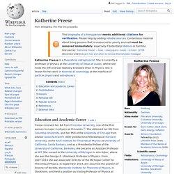 Katherine Freese