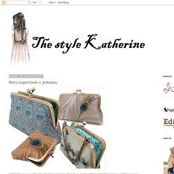 The style Katherine: Retro kopertówki z jedwabiu