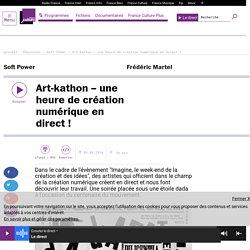 Art-kathon – une heure de création numérique en direct !