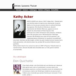 Kathy Acker - Kathy Acker