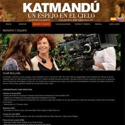 Katmandú, un espejo en el cielo - Reparto - Verónica Echegui