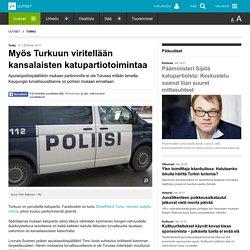 Myös Turkuun viritellään kansalaisten katupartiotoimintaa