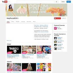 KatyPerryVEVO's Channel