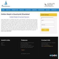 Golden Maple in Kaushambi Ghaziabad