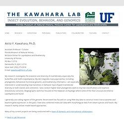 Akito Kawahara web page