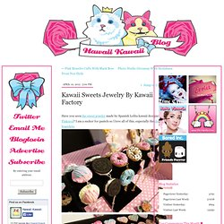 Kawaii Sweets Jewelry By Kawaii Factory