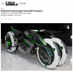 Kawasaki J Concept Three-Wheeled Motorcycle