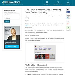 The Guy Kawasaki Guide to Rocking Your Online Marketing