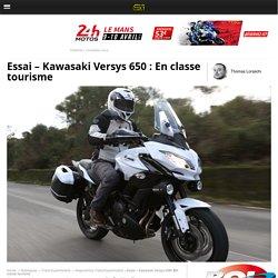 Essai - Kawasaki Versys 650 : En classe tourisme - Moto Revue