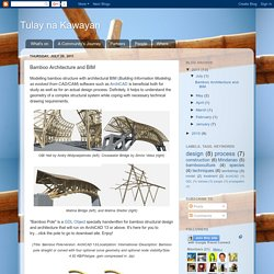 Bamboo Architecture and BIM