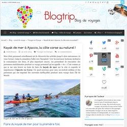 Kayak de mer à Ajaccio, la côte corse au naturel !