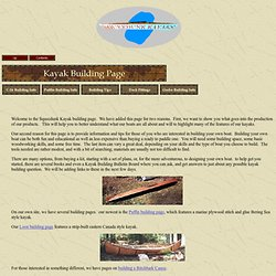 Kayak Building Page