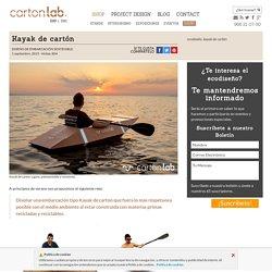 Kayak de cartóncartonLAB