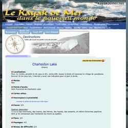 Le Kayak de Mer dans le Nouveau Monde: Destinations