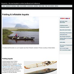 Kayarchy - folding & inflatable kayaks
