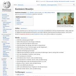 Kazimierz Brandys