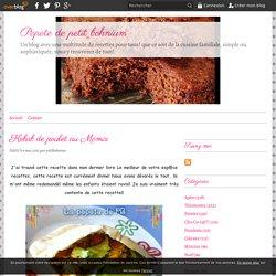 Kebab de poulet au Momix