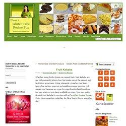 Gluten Free Recipe Box