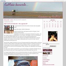 KEEP CALM and PLAN ON - Mon agenda DIY - KaMaïa au FarWest