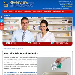 Keep Kids Safe Around Medication