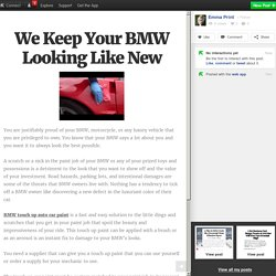 We Keep Your BMW Looking Like New