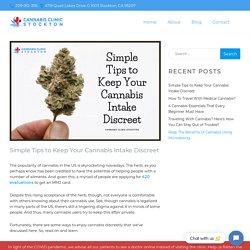 How to Keep Your Cannabis Use Discreet?