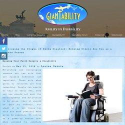 Keeping Your Faith Despite a Disability