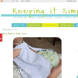 Baby Bloomers {Melly Sews}