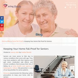 Keeping Your Home Fall-Proof for Seniors
