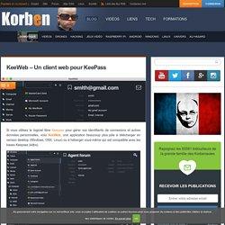 KeeWeb - Un client web pour KeePass