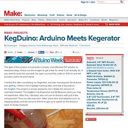 KegDuino – Arduino meets Kegerator
