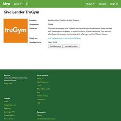 Lender > TruGym from Keighley, West Yorkshire, United Kingdom