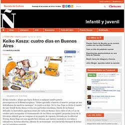 Keiko Kasza: cuatro días en Buenos Aires