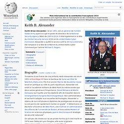 Keith B. Alexander directeur 2005-2014
