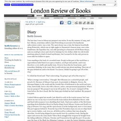 Keith Gessen · Diary: In Odessa · LRB 17 April 2014