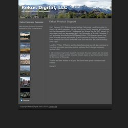 About our products | Kekus Digital, LLC | Kekus Digital