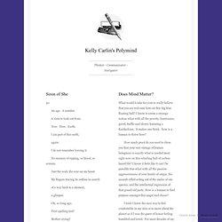 Kelly Carlin's Polymind