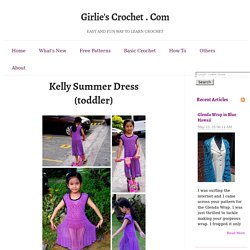 Kelly Summer Dress Toddler
