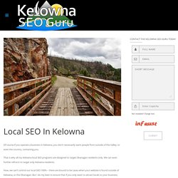 Local Listing Optimization BC - Kelowna SEO Guru
