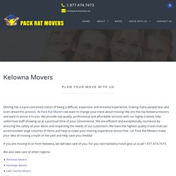 Best Storage Moving company in Kelowna